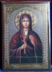 Икона покровительница имени Святая Валентина Освящена, Новая