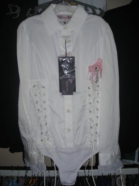 Шикарная блуза боди Fun&Fun. Италия