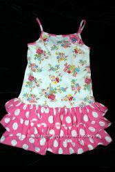Летние платья сарафаны на девочку 3-4, 5-6, 7-9  лет