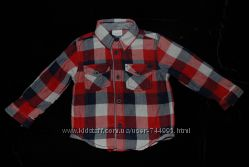 Фирменные рубашечки на мальчика M&Co и Mothercare 3-6, 6-9, 9-12, 12-18 мес