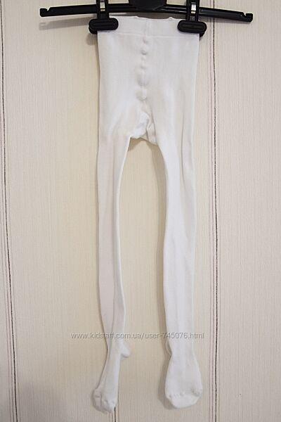 Белые колготки колготы Легка Хода 110-116