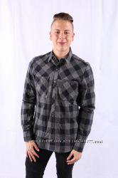 мужская рубашка Cast Iron , расцветка - серая клетка , размер- Gr. M