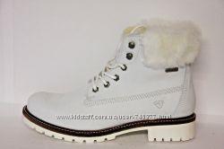 оригинальные ботинки Tamaris Ankle Boot 43 р нат кожа нат шерсть мембрана