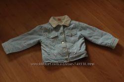 Наша вельветовая курточка MINI MODE демисезонная 2-3 года 92-98 см.