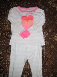 CARTERS Пижамка с сердечками