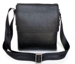 Кожаные мужские сумки на плечо. Огромный выбор. Скидка - 10