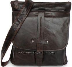 Мужские кожаные сумки на плечо и рюкзаки. Отличное качество