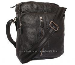 Кожаные мужские сумки на плечо