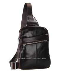 Мужские рюкзаки - сумки на плечо из натуральной кожи. Ручная работа