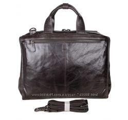 Кожаные мужские портфели и большие сумки. Более 100 моделей в наличии.