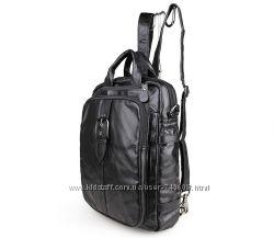 Шикарные кожаные сумки трансформеры - рюкзаки. Идеальное качество