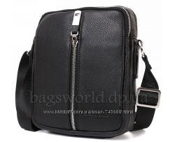 Мужские сумки на плечо из натуральной телячьей кожи. Огромный выбор