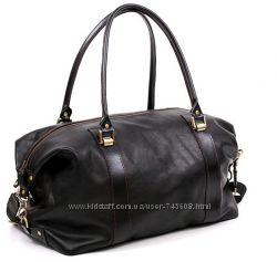 Кожаные мужские сумки - саквояжи. Вместительные, качественные и модные