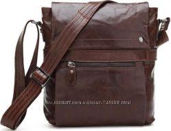 800de471a811 Кожаные мужские сумки на плечо ручной работы. Разные цвета. Акция ...