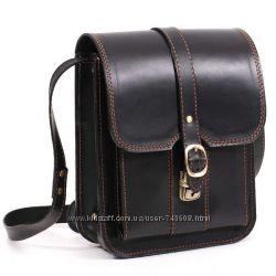 Кожаные мужские сумки из очень прочной кожи. Супер цена. Ключник в подарок