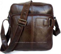 Мужские кожаные сумки на плечо и портфели. Лидеры продаж интернета