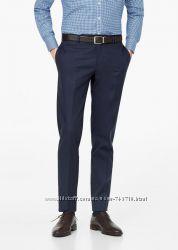 Фирменные модные  брюки Mango slim-fit, зауженные