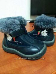 Зимние ботинки B&G 21размер.