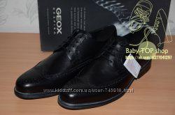 Шкіряні туфлі Geox Carnaby