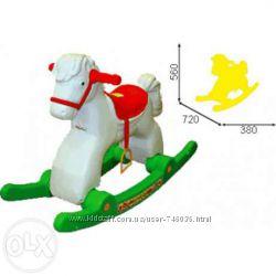 Пластмассовая детская лошадка-качалка ТМ Орион