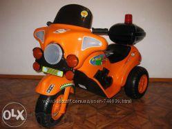 Мотоцикл трехколесный детский аккумуляторный Я-МАХА ORION ОРИОН 372
