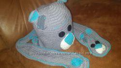 Набор шапка и шарфик