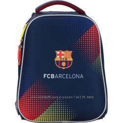 Рюкзаки школьные, ранцы FC Barcelona  ортопедическая спинка. KITE 2017 год