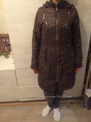 Очень стильная тёплая куртка-пальто