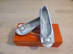 Кожаные туфельки Tiflani, 32р. Стелька 20, 7 см
