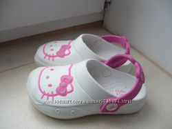 Кроксы Hello Kitty р. 25- 25. 5