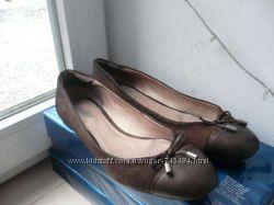 Кожаные туфли-мокасины GEOX р. 38