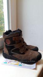 кожаные термоботинки Primigi Gore-Tex 40 разм