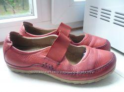 Туфли - мокасины ECCO размер 36 , кожаная стелька 23 см.