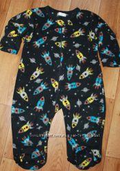 Флисовый слип пижама Early days 2-3г