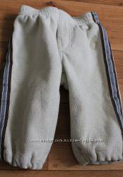 Теплые флисовые штаны Old navy 6-12М