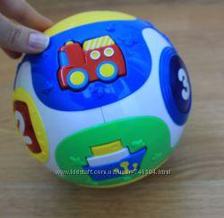 Функциональный мяч звук, свет Simba Toys