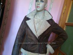 Куртка-дубленка авиатор женкая Н&М