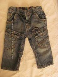 Продам джинсы mexx после своего ребенка 9-12 мес