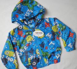 Яркие курточки ветровки на деток 2, 5 лет
