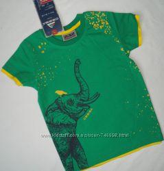 Модная футболка для мальчика 86, 98 рр