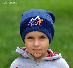 СНБ. Весенне-осенняя шапка для мальчиков.