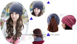 шапки шарфики