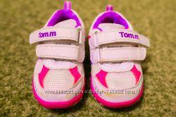 Продам кроссовки Tom. m, р. 21, бело-розовые, в хорошем состоянии