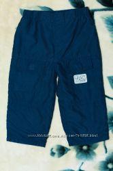 Штаны, брюки р. 18-23 мес. , темно-синие, в отличном состоянии