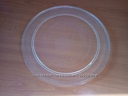 Тарелка для микроволновки свч плоская CANDY Gorenje LG ZANUSSI 245 мм