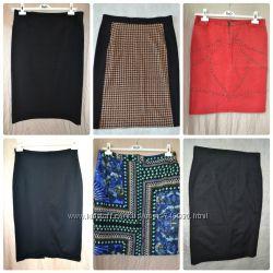 Стильные юбки карандаш Tuzzi, MARKS&SPENSER, VERSACE
