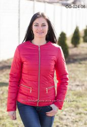 Весенне-осенние курточки разных цветов 42-50 рр.