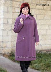 Кашемировое пальто разные цвета 52-64 рр.