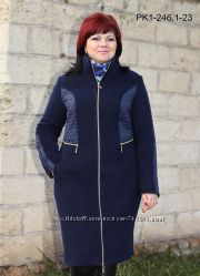 Пальто кашемировое деми 50-56 рр.