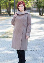 Пальто кашемир деми разные цвета 54-60 рр.